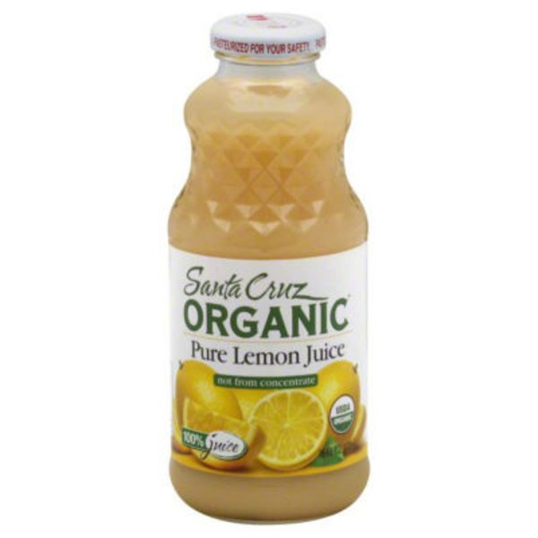 Santa Cruz Organics Pure Lemon Juice