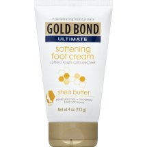 Gold Bond Ultimate Softening Foot Cream with Shea Butter, 4 oz.