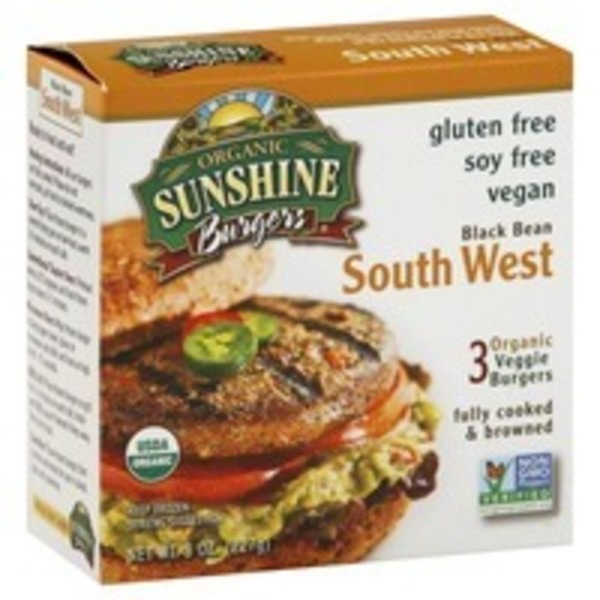Sunshine Burgers South West Sunshine Burger