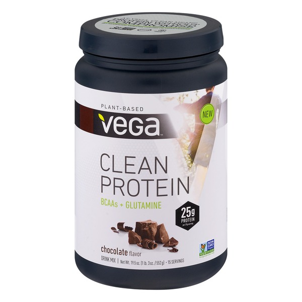 Vega Plant-Based Clean Protein Drink Mix Chocolate Flavor