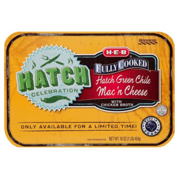green chile mac and cheese heb