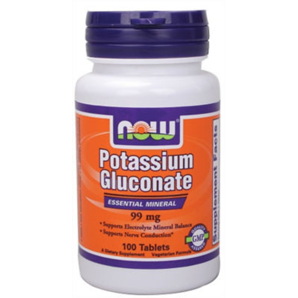 Now Pot Glucconate 99 Mg