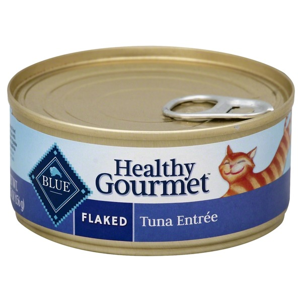 Blue Buffalo Flaked Healthy Gourmet Tuna Entree In Gravy Cat Food