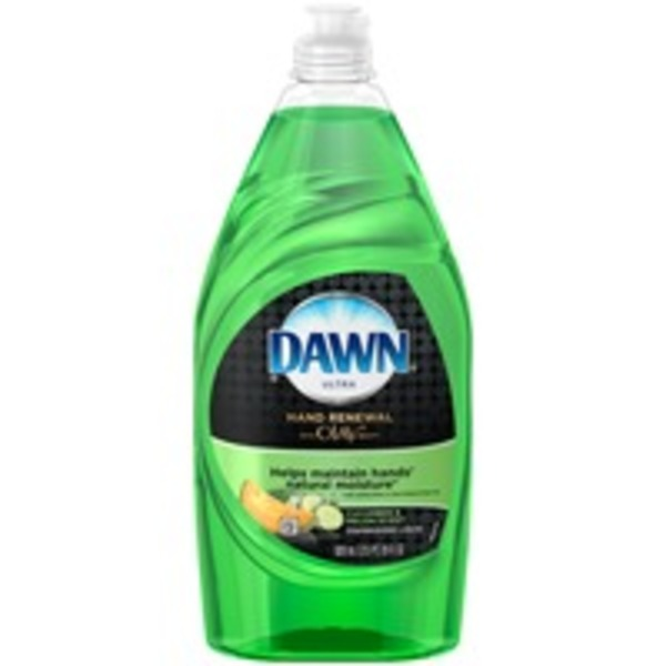 Dawn Ultra Hand Renewal Cucumber & Melon Splash Scent Dishwashing Liquid