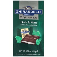 Ghirardelli Chocolate Squares Dark & Mint Chocolate