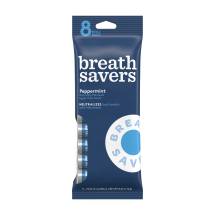 BREATH SAVERS Mints in Peppermint Flavor (8-Roll Pack), 6 Ounces