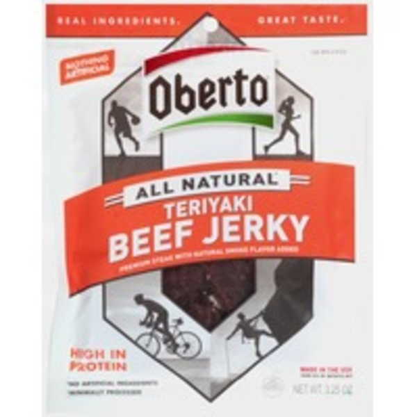 Obertos All Natural Teriyaki Beef Jerky