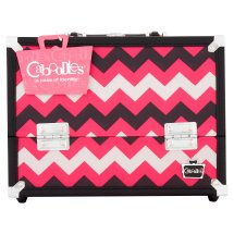 """Caboodles Inspired 11.25"""" Ultimate Train Case Cosmetic Bag"""