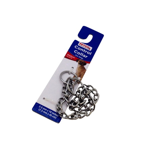 Petco Chain Control Collar For Dogs 18