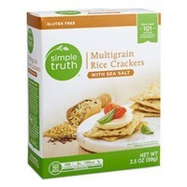 Simple Truth Multigrain Rice Crackers w/ Sea Salt