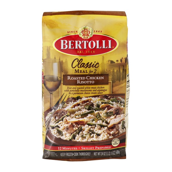 Bertolli Classic Meal for Two Roasted Chicken Risotto
