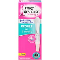 First Response Pregnancy Rapid Result Pregnancy Test
