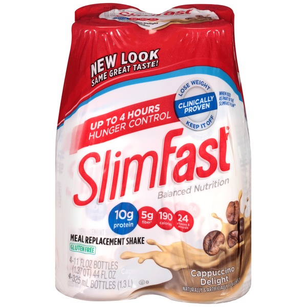 Slimfast Balanced Nutrition Cappuccino Delight Meal Replacement Shake