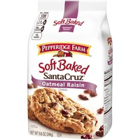 Pepperidge Farm Cookies Santa Cruz Soft Baked Oatmeal Raisin Soft Cookies
