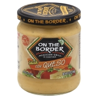 On The Border Con Queso Salsa