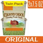Country Crock Vegetable Oil 15 oz Spread, 2 ct