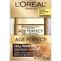 L'Oreal Paris Age Perfect Cell Renewal Facial Day Cream SPF 15