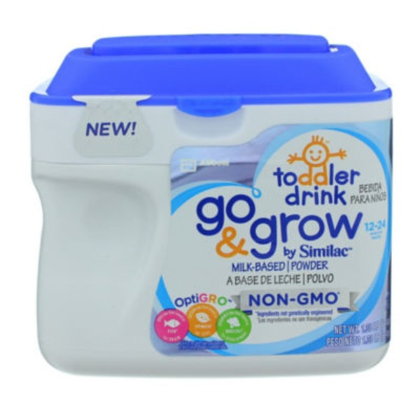 Similac Go And Grow OptiGRO Milk-Based Powder Toddler Drink