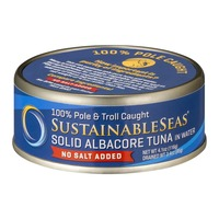SustainableSeas Solid Albacore Tuna in Water No Salt Added