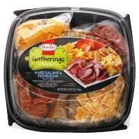 Hormel Party Tray Pepperoni Salami Cheese