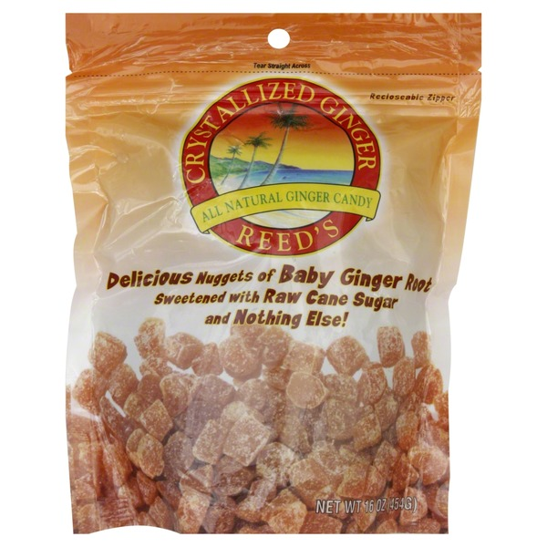 Reeds Candy, Crystallized Ginger