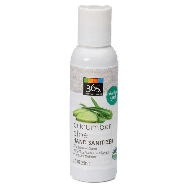 365 Cucumber Aloe Hand Sanitizer Gel