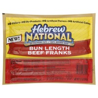 Hebrew National Bun Length Beef Franks