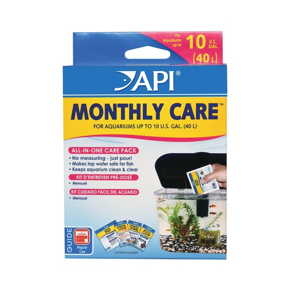 API Monthly Care Aquarium Care Kit