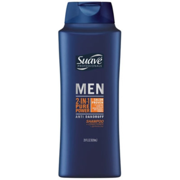 Suave Anti Dandruff Pure Power 2 in 1 Shampoo and Conditioner