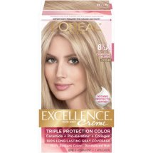 L'Oreal Paris Excellence Creme Hair Color, 8.5A Champagne Blonde, 1 Kit