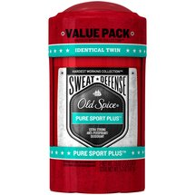 Old Spice Hardest Working Collection Sweat Defense Pure Sport Plus Scent Anti-Perspirant & Deodorant (Pack of 2)
