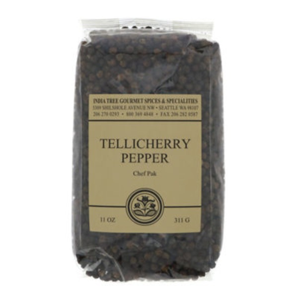 India Tree Tellicherry Peppercorns