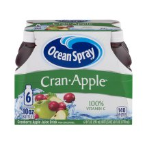 Ocean Spray Fruit Juice, Cran-Apple, 10 Fl Oz, 6 Count