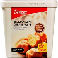 Delizza Belgian Mini Cream Puffs