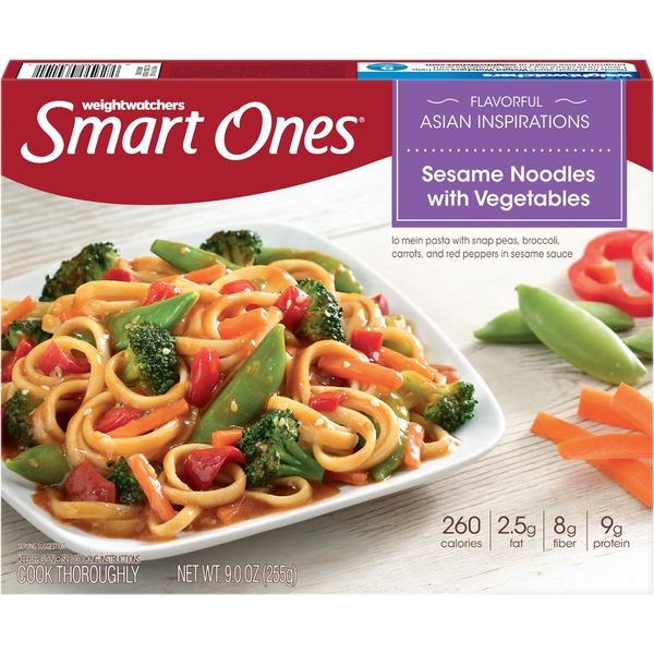 Weight Watchers with Vegetables Sesame Noodles
