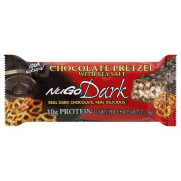 NuGo Dark Chocolate Pretzel with Sea Salt
