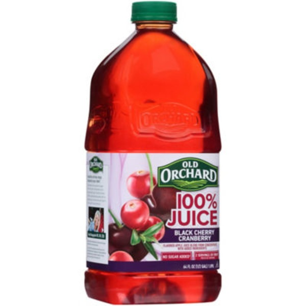 Old Orchard 100% Cranberry Black Cherry  Juice
