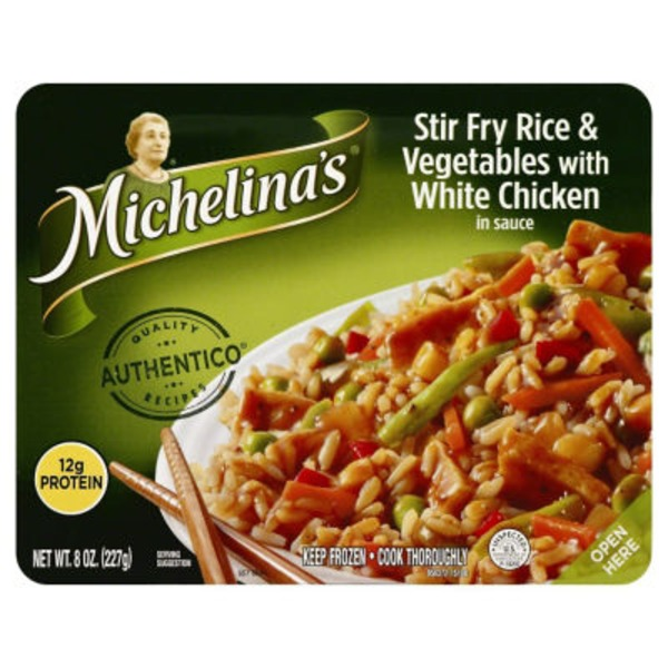 Michelina's Traditional Recipes Stir Fry Rice & Vegetables with White Chicken