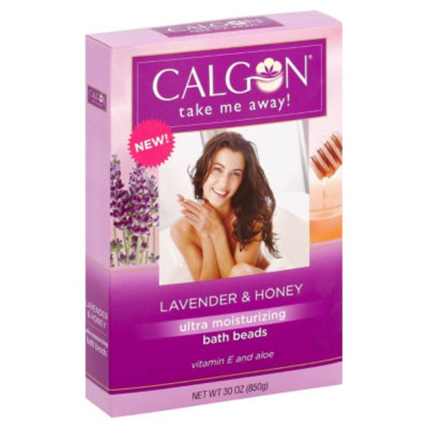 Calgon Ultra Moisturizing Lavender & Honey Bath Beads