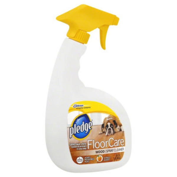 Pledge FloorCare Hardwood Lemon Cleaner