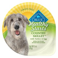 Blue Buffalo Food for Dogs, Natural, Country Skillet with Turkey & Egg