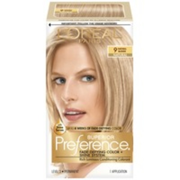 Superior Preference Natural 9 Blonde Hair Color