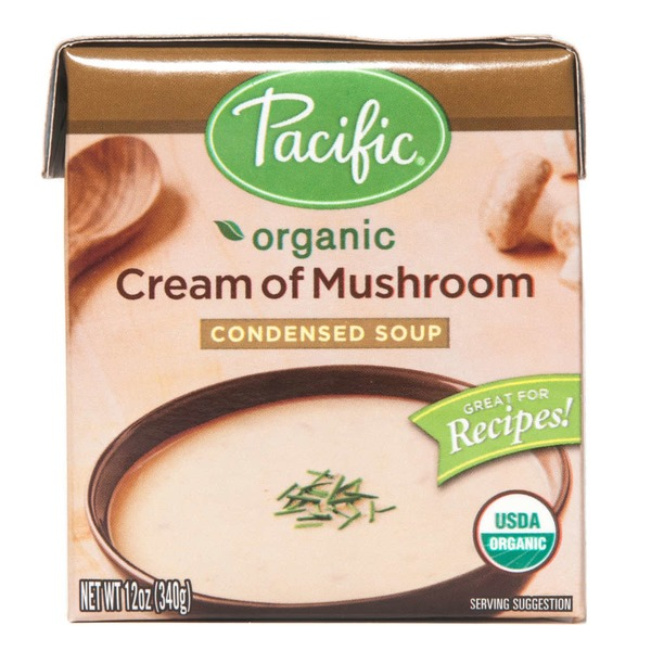 Pacific Organic Cream of Mushroom Condensed Soup