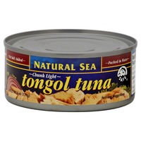 Natural Sea Tongol Tuna, Chunk Light