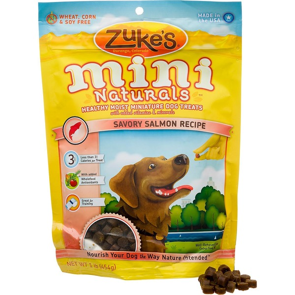 Zuke's Miniature Salmon Dog Treats