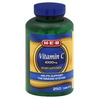 H-E-B Vitamin C 1000 Mg Tablets