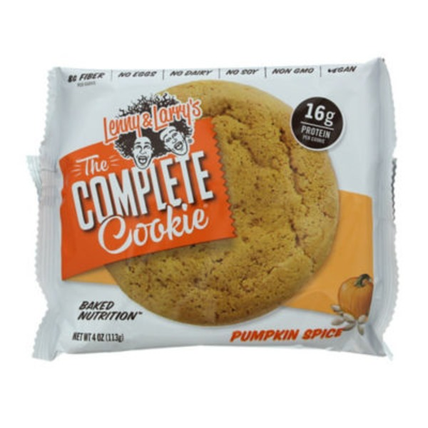 Lenny & Larry's The Complete Cookie Vegan Pumpkin Spice Cookie