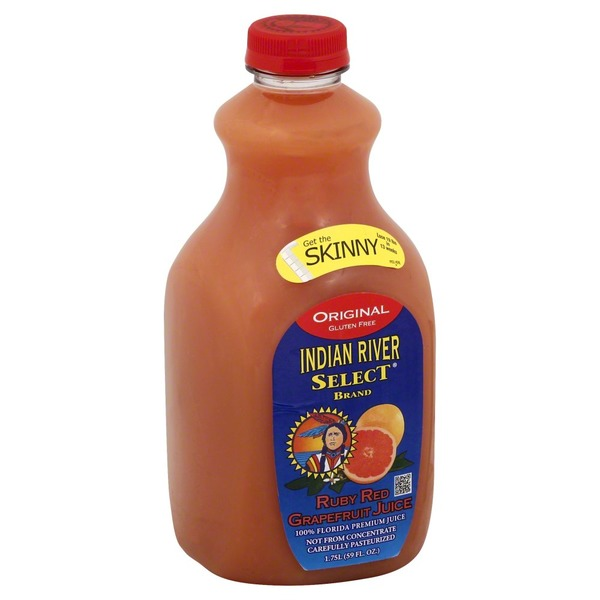 Indian River Select Juice, Grapefruit, Ruby Red, Original, Bottle
