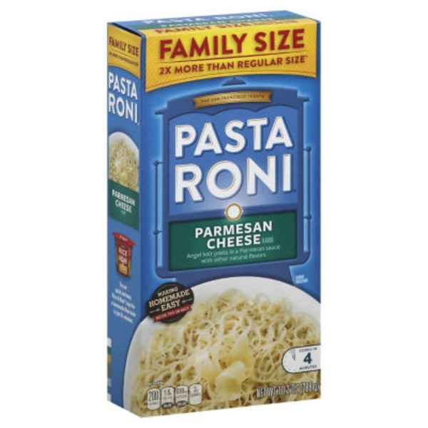 Pasta Roni Parmesan Cheese Flavored Pasta Mix
