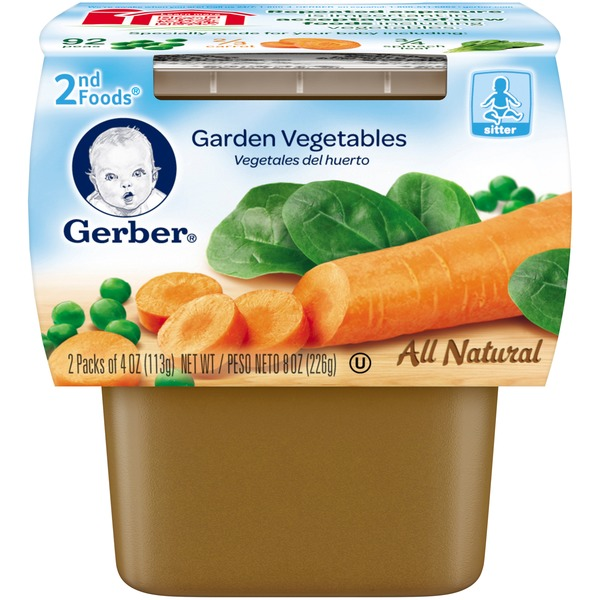 Gerber Foods Garden Vegetables Baby Food